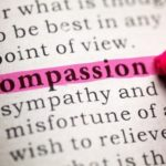 27553915 - fake dictionary, definition of the word compassion